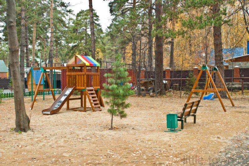Детские уличные игровые площадки