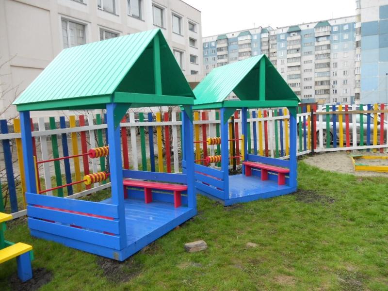 Уличные детские домики